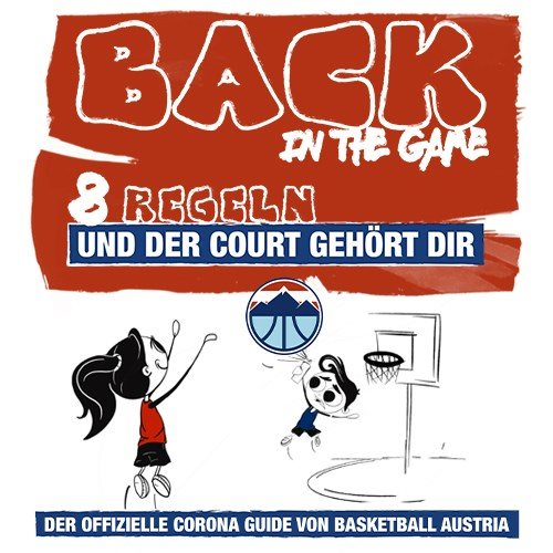Back In The Game: Der offizielle Corona Guide von Basketball Austria